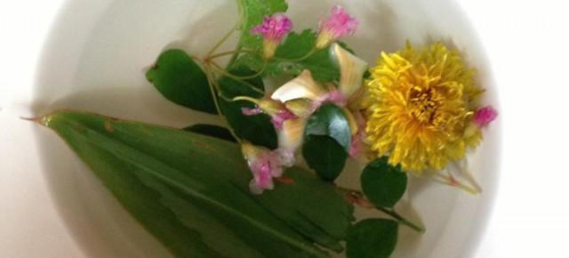 2014년 5월 31일(토) 마르쉐@키친 워크숍 '카와시마 요코의 풀 이야기와 요리'